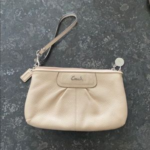 Signature Coach Large Wristlet